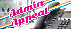 Admin Appeal
