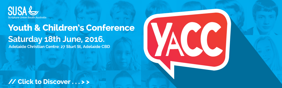 YaCC - 2016 Youth and Children's Conference